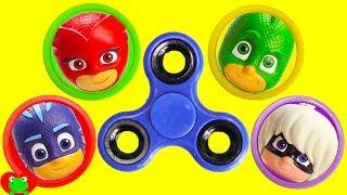 LEARN Colors PJ Masks Fidget Spinner Game