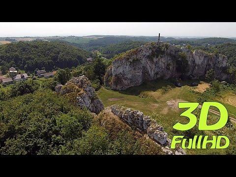 [3D] Hill 502 / Wzgórze 502 (Grodzisko), Dolina Będkowska, Jerzmanowice, Poland / Polska