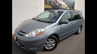 2008 Toyota Sienna - H30623A - YouTube