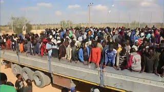 ليبيا: قتلى وجرحى في حادث اصطدام شاحنة كانت تقل quot300 مهاجر ...