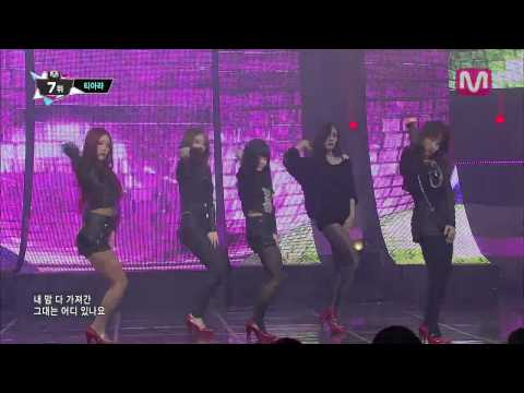 티아라_넘버나인 (Number 9 by T-ara@Mcountdown 2013.10.31)