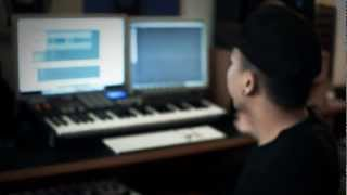 Touliver Making an R&B Beat