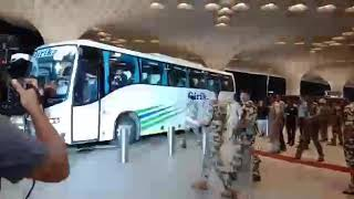 Indian Cricket team departs from Mumbai airport for ICC Cricket World Cup 2019,being held in England