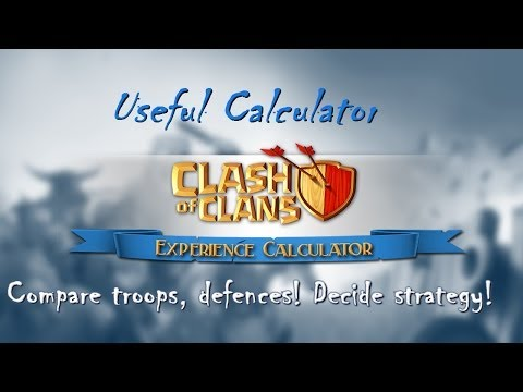 Download Clash of Clans calculator for android/iphone decide strategy