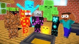Monster School : BREWING WITHER SKELETON CHALLENGE - Minecraft Animation
