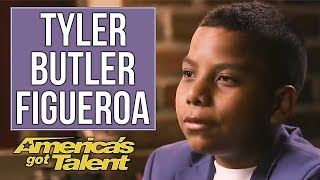 The story of Tyler Butler-Figueroa and his Journey to the America's Got Talent live shows