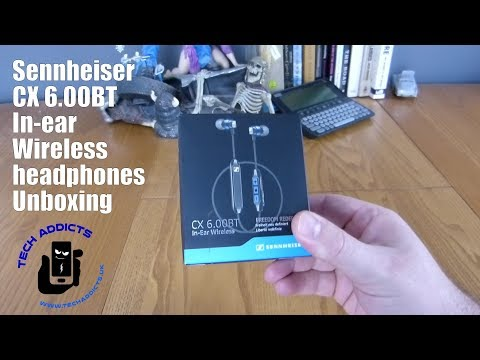 video Sennheiser CX 6.0BT 507447 In-Ear Wireless Earphone: A Complete Review