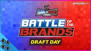 SmackDown vs. Raw 2006 - Battle of the Brands #1: BREEZE & CREED DRAFT THEIR ROSTERS! - UUDD Plays