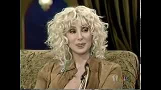 Cher Crying over Sonny Bono during interview