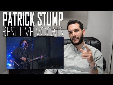 VOCAL COACH  reaction to PATRICK STUMP's BEST LIVE VOCALS