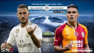 [TRỰC TIẾP] Real Madrid vs Galatasaray (3h00 ngày 7/11). Soi kèo Cúp C1. Trực tiếp K+PM
