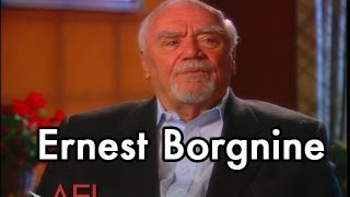 Ernest Borgnine on THE WILD BUNC HD