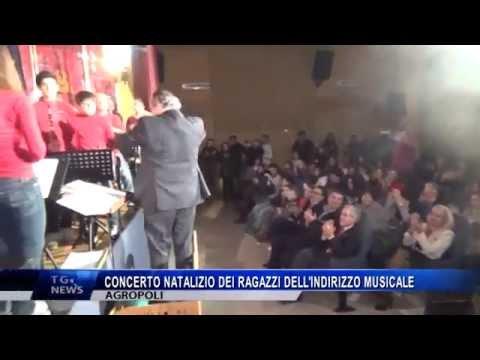 AGROPOLI CONCERTO NATALIZIO DEI RAGAZZI DELL'INDIRIZZO MUSICALE