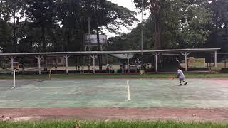 Tennis: Kenzo (7 years old) 12/18/2018