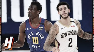 Denver Nuggets vs New Orleans Pelicans - Full Game Highlights | July 25, 2020 | 2019-20 NBA Season