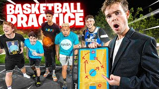 I Coached 2HYPE'S Basketball Practice!