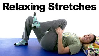 Relieve Stress & Anxiety with Relaxing Stretches