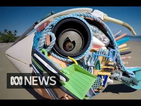 Turning Ocean Trash Into Art!