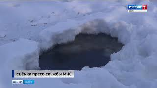 Омские спасатели вышли в рейд и проверили прибрежные территории Иртыша