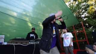 Jehst - Starting over (Live performance) feat. Micall Parknsun