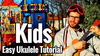 MGMT - Kids - Ukulele Tutorial - Easy Picking Pattern