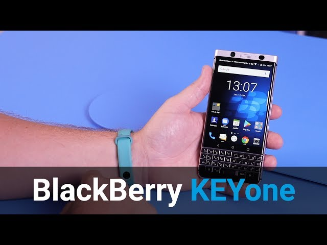 Belsimpel-productvideo voor de BlackBerry KEYone
