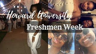 FRESHMAN WEEK: HOWARD UNIVERSITY | Courtni's World S01E04