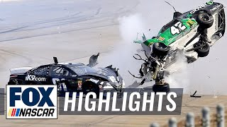 All of the crashes from the 2019 GEICO 500 at Talladega | NASCAR on FOX HIGHLIGHTS