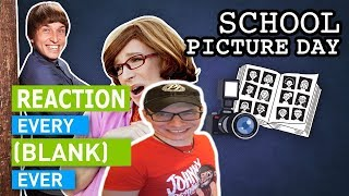 EVERY SCHOOL PICTURE DAY EVER | Dan Ex Machina Reacts