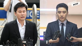 Former CEO of YG Entertainment appeared before police over gambling and pimping charges
