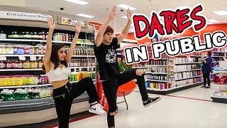 PUBLIC DARES W/ MY GIRLFRIEND