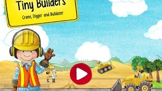 Tiny Builders | Crane, Digger, Bulldozer for Kids #2 (Android Gameplay) | Cute Little Games
