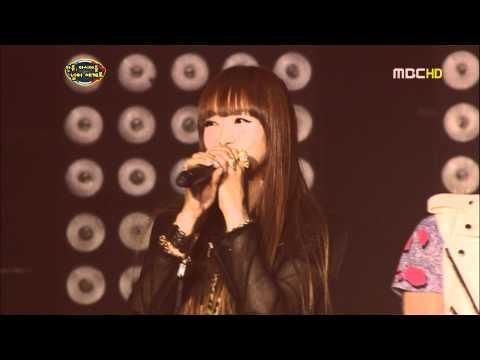 [HD] [LIVE] 110703 MBC SMTOWN Live in Paris @ f(x) - LA chA TA + Chu~♡ + Talk [1/2]