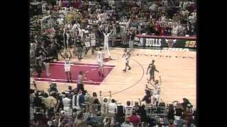1996 NBA Finals - Seattle vs Chicago - Game 6 Best Plays