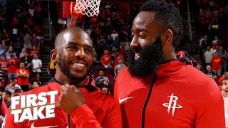 James Harden, Rockets have no reason to change how they play - Max Kellerman | First Take
