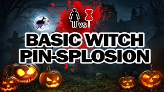 Basic Witch Pinsplosion, Corinne VS Pin