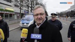 Berlin'de patlayan bomba ile alakalı açıklama
