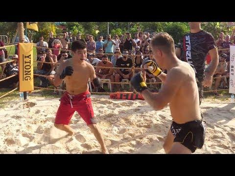 Poland fighter vs Russian wrestler !!! MMA !!!