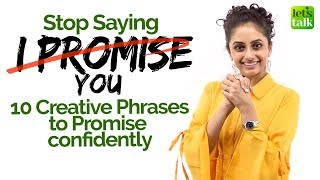 Learn 10 Creative English Phrases to Say 'I Promise You' confidently | Spoken English Lesson - Meera