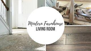 Modern Farmhouse Living Room Makeover | Part 2