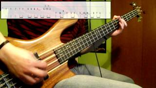 Nirvana - Lounge Act (Bass Cover) (Play Along Tabs In Video)