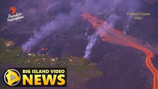 Hawaii Volcano Eruption Update - Tuesday Morning (July 3, 2018)