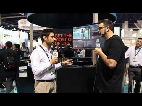 MOG at NAB 2015 | Interview for Broadcast Beat
