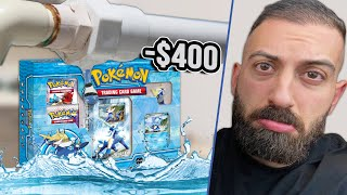 My Rare Pokemon Cards Were Flooded...