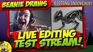 TEST streaming - Editing Indovenom Live (yes I'm still editing it) - 480p coz my net be SLOW!