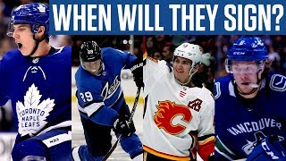 When Will the Remaining NHL RFAs Start Signing? - Instant Analysis