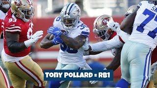 Tony Pollard's Preseason Debut || Dallas Cowboys Film Session
