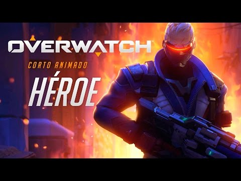 Overwatch corto animado | 'Héroe' | PS4