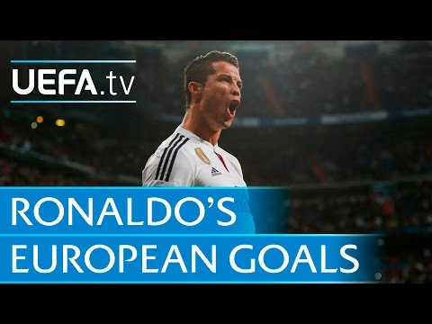 Cristiano Ronaldo ● All 96 goals ● European football
