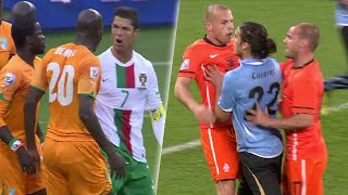 When Players Lose Their Cool (FIFA World Cup South Africa 2010)